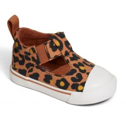 Toms Toffee Cheepard Print Early Walker Joon Flats 10014251