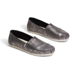 TOMS Forged Iron Shimmer Synthetic Women's Classics ft. Ortholite 10014405