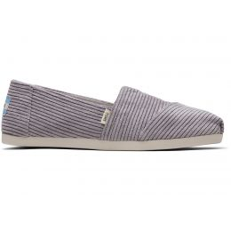 Toms Cement Micro Cord Womens Classic Shoes 10014408