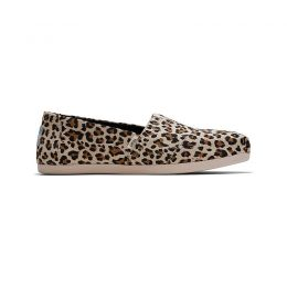 Toms Leopard Print Womens Classic Casual Shoes 10015065