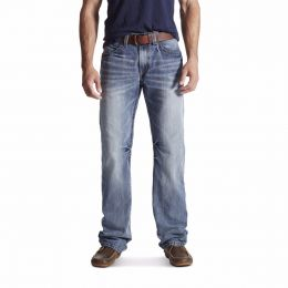 Ariat Denim M4 Coltrane Durango Mens Low Rise Relaxed Fit Fashion Boot Cut Jeans 10017511
