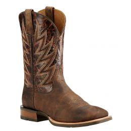 10018695 Challenger Branding Iron Square Toe Ariat Mens Cowboy Boots