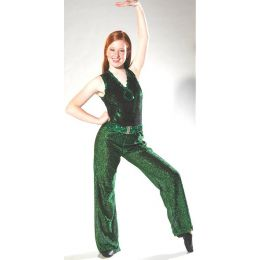 1001  Mod Squad Leotard Only Dance Recital Costume Cs