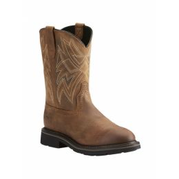 Ariat Everett Steel Toe Western Mens Work Boots 10022552