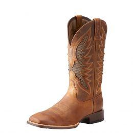 Ariat Distressed Tan VentTEK Ultra Mens Western Boot 10023129