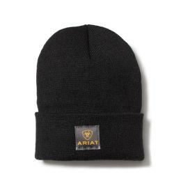 Ariat Black Rebar Watch Knit Cap 10024503