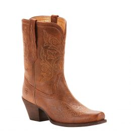 Ariat Vintage Bomber Round Up Rylan Womens Western Boots 10025154