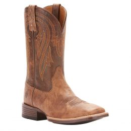 Ariat Tannin Plano Wide Square Toe Mens Western Boots 10025168