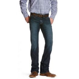 Ariat Men's Dark Indigo M7 Straight Leg Slim Fit Stretch Jeans 10026041