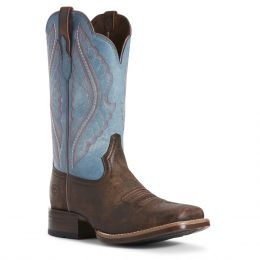 Ariat Tack Room Chocolate Prime Time Western Boots 10027373