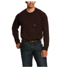 Ariat Ganache Men's Rebar Cotton Strong Long Sleeve T-Shirt 10027899