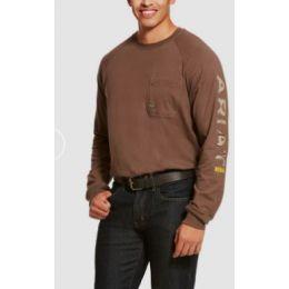 Ariat Moss Rebar Cottonstrong Graphic Long Sleeve T-Shirt 10027904