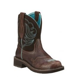 Ariat Women's Royal Chocolate Fatbaby Heritage Dapper Western Boot 10029492