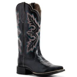Ariat Women's Jackal Black Breakout Western Boot 10029647