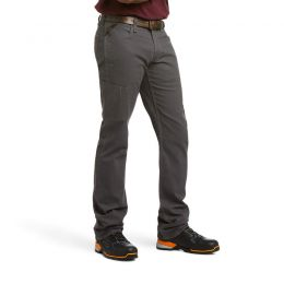 Ariat Men's Rebar M4 Low Rise DuraStretch Made Tough Stackable Straight Leg Pant 10030250