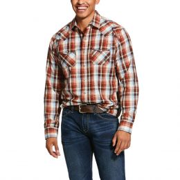 Ariat Multi Jonesboro Retro Fit Mens Long Sleeve Shirt 10030710