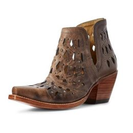 Ariat Brown Dixon Studden Womens Western Booties 10031503
