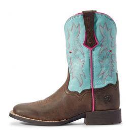Ariat Bay Brown Tombstone Kids Western Boot 10031516