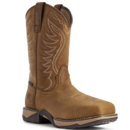 Ariat Women's Distressed Brown Anthem Waterproof Composite Toe Work Boot 10031664