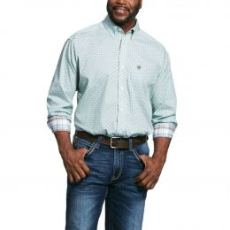 Ariat Wrinkle Free Zillowbrook Long Sleeve Mens Shirt 10031972