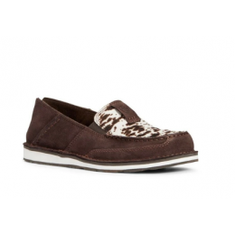 Ariat Chocolate Chip Suede and Cowhair Cruiser Ladies Shoe 10033932