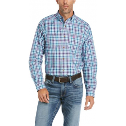 ARIAT BLUE PRO SERIES HAWKEN FITTED MEN'S SHIRT 10035488