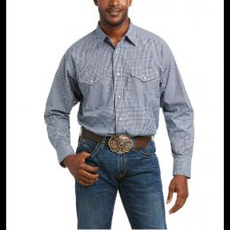Ariat Black Checker Pro Series Porter Classic Fit Shirt 10036387