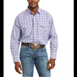 Ariat Blue Pro Pedra Classic Snap Longsleeve Shirt 10036389