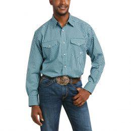 Ariat Black Hadlee Long Sleeve Stretch Mens Snap Shirt 10036392