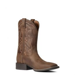 Ariat Distressed Brown Sport Outdoor Mens Western Boots 10038330