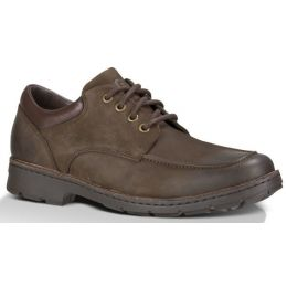 UGG Burns Stout Brown Waterproof Leather Mens Comfort 1009470