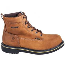10098 Mens 6inch Steel Toe Wolverine Boots