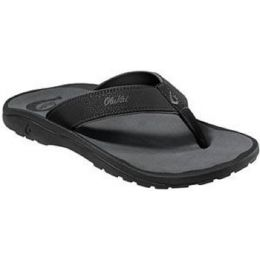 Olukai Ohana Sandal Black Mens Flip Flop 10110-4042