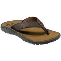 Olukai Ohana Sandal Dark Java Mens Flip Flop 10110-4827