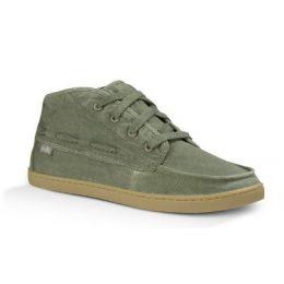 Sanuk Vee K Shawn Olive Womens Comfort Lace Up Chukka Shoes 1013820-OLV
