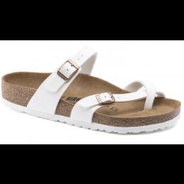 Birkenstock White Mayari Birko-Flor Women's Sandals 1014190
