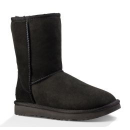 1016223 Black Classic II Womens UGG Short Boots