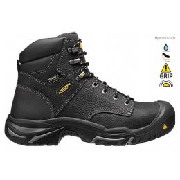 1016778 Black Mt Vernon 6 Inch Mens Keen Work Boots