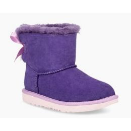 UGG Violet Bloom Girls Mini Bailey Bow II Boot 1017397K