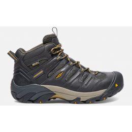 Keen Raven/Tawny Olive Lansing Mid Waterproof Mens Steel Toe Boots 1018079