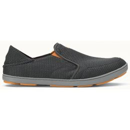 Olukai Nohea Mesh Slip On Dark Grey Slip On Mens Casual 10188-4242