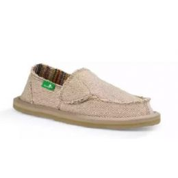 Sanuk Natural Lil Donna Hemp Kids Sidewalk Surfers Shoes 1019008K