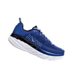 Hoka One Galaxy Blue/Anthracite Men's Bondi 6 Comfort Shoe 1019269