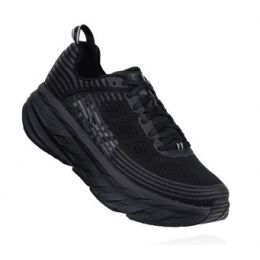 Hoka One Black Bondi 6 Men's Comfort Shoe 1019271