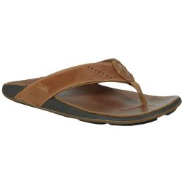 Olukai Nui Clay Leather Men's Sanadls 10239-1010
