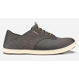 Olukai Charcoal/Clay Nohea Moku Mens Comfort Casual Shoes 10283-2610