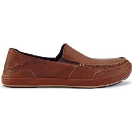 Olukai Puhalu Slip On Toffee Leather Mens Casual 10302-3333