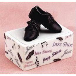 103040 Porcelain Jazz Shoe Trinket Storage Box