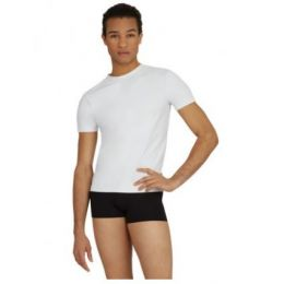 Capezio Fitted Tactel Crew Neck Mens Shirt 10358