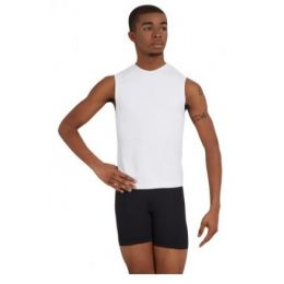 Capezio Sleeveless Mens Fitted Muscle Tee 10359M
